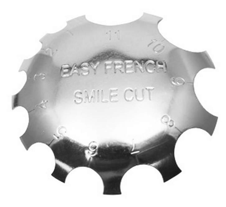 Chapa para Francesa - Easy French Smile Cut