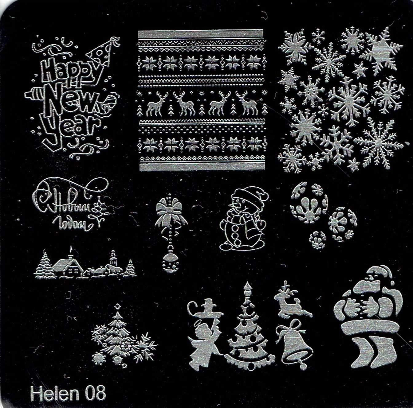 Placa Helen 08 - Natal