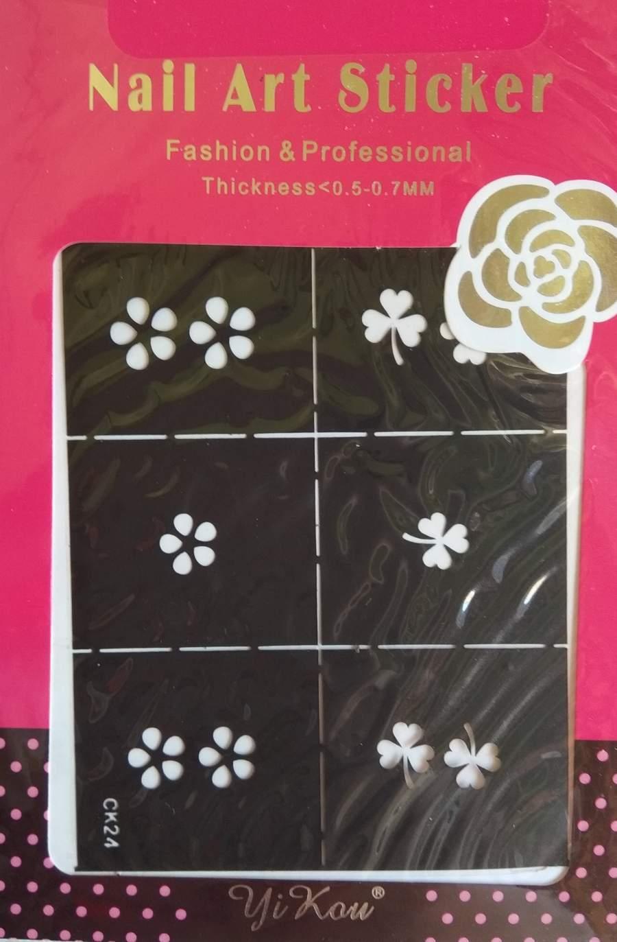 Stencil Flores e Trevos