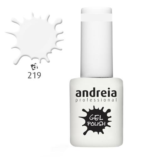 Verniz Gel Andreia 219 - Leitoso - 10,5 ml