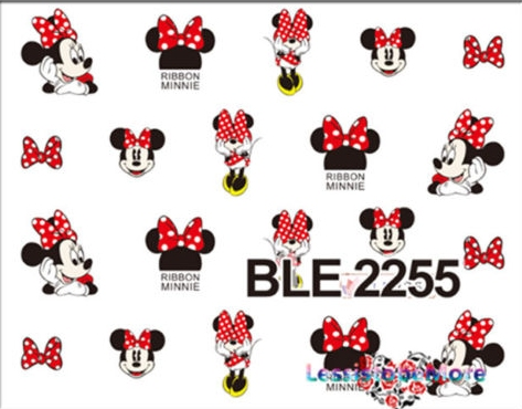 Decalques Minnie BLE2255
