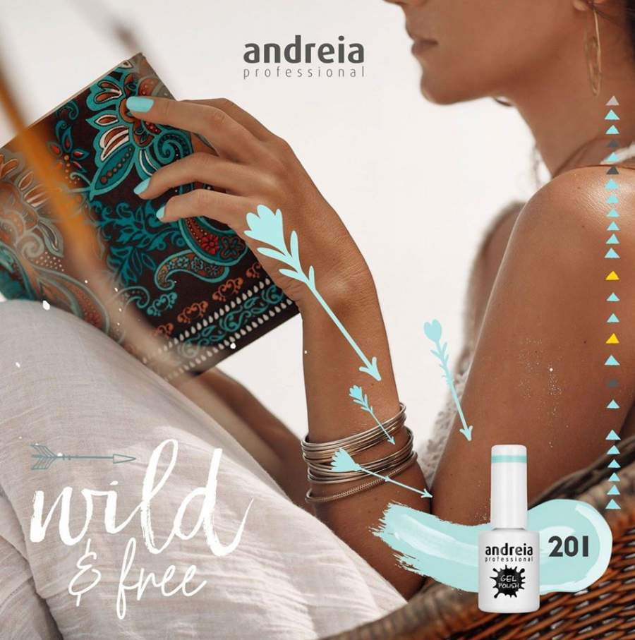Verniz Gel Andreia 201 - 10.5 ml