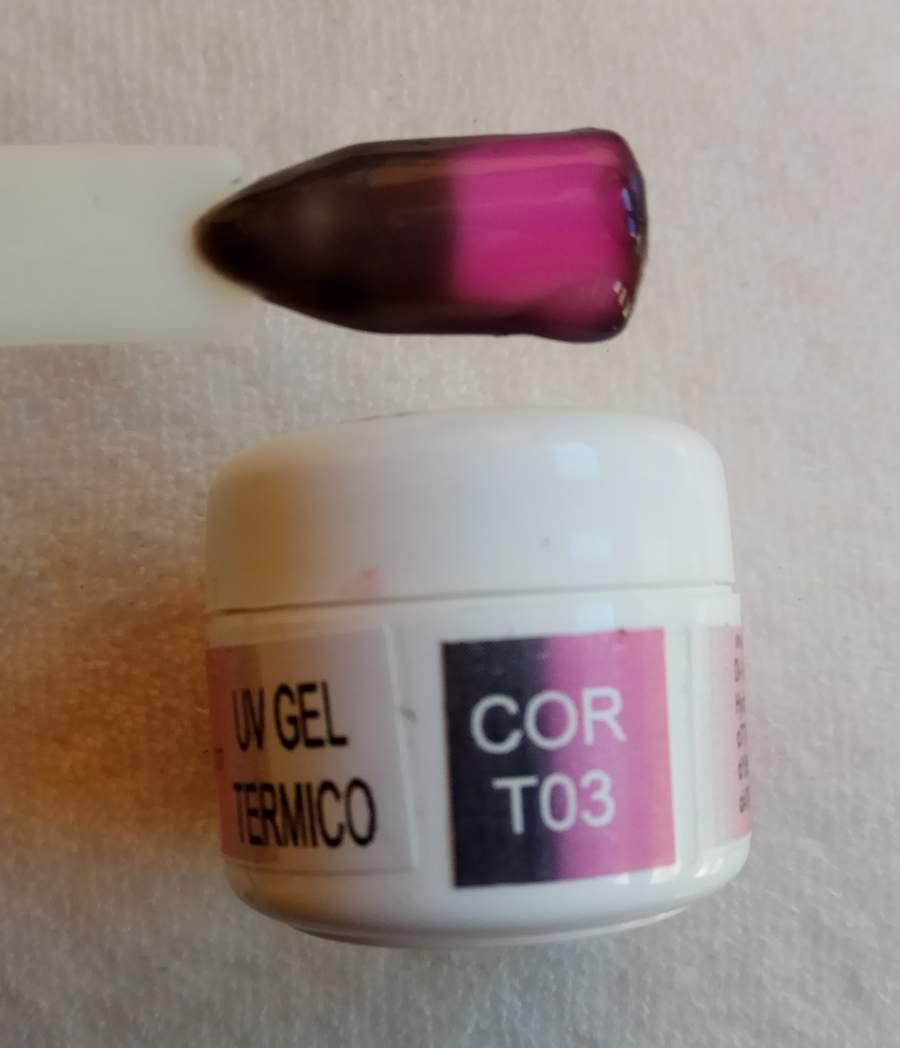 Gel Térmico T03 - Castanho / Rosa