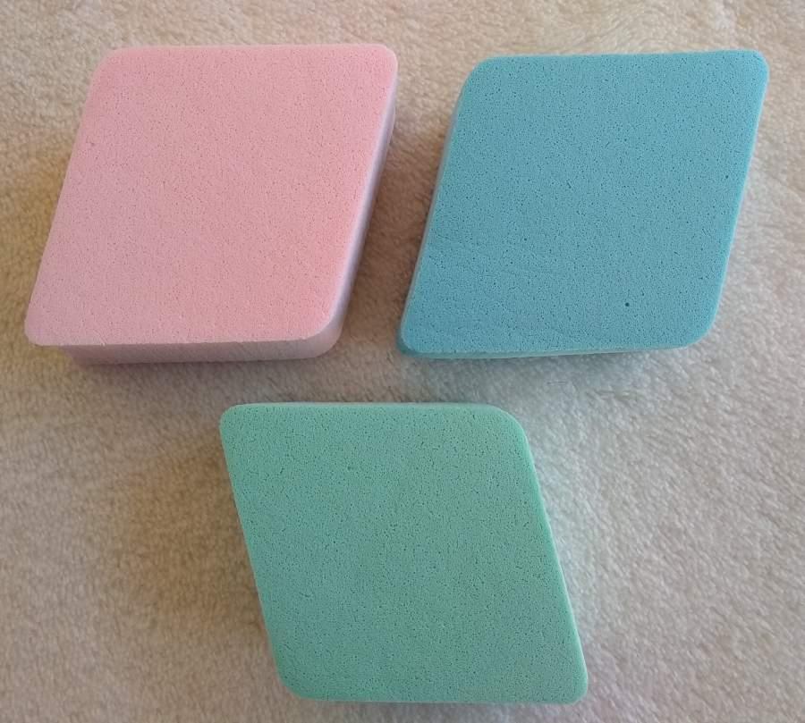 Esponjinhas de Maquilhagem - Kit de 3 Unidades
