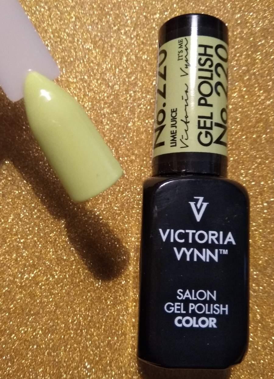 Victoria Vynn Verniz Gel Nº 220 - Lime Juice - 8 ml
