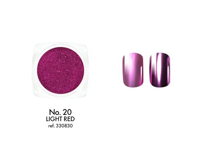 Pó Metalizado Nº 20 - Light Red - Victoria Vynn