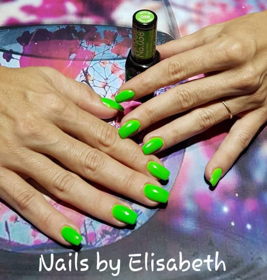 Victoria Vynn Verniz Gel Nº 058 - Totally Green - 8 ml