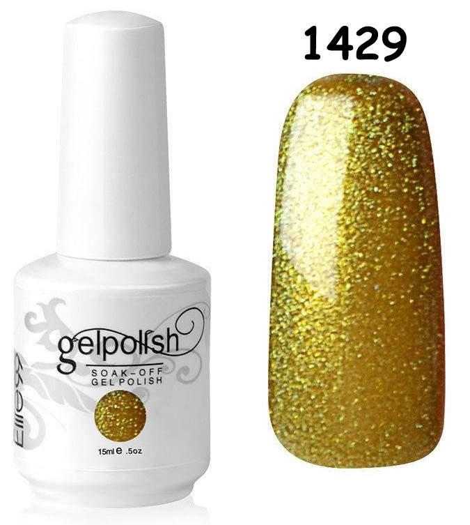 Gel Polish 1429 Brilho Esverdeado - 15 ml