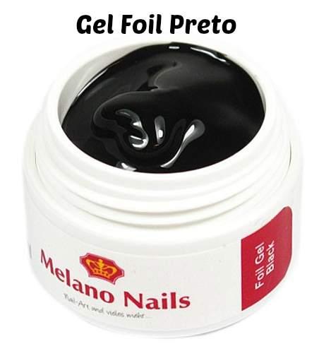 Gel Foil Preto 5 ml
