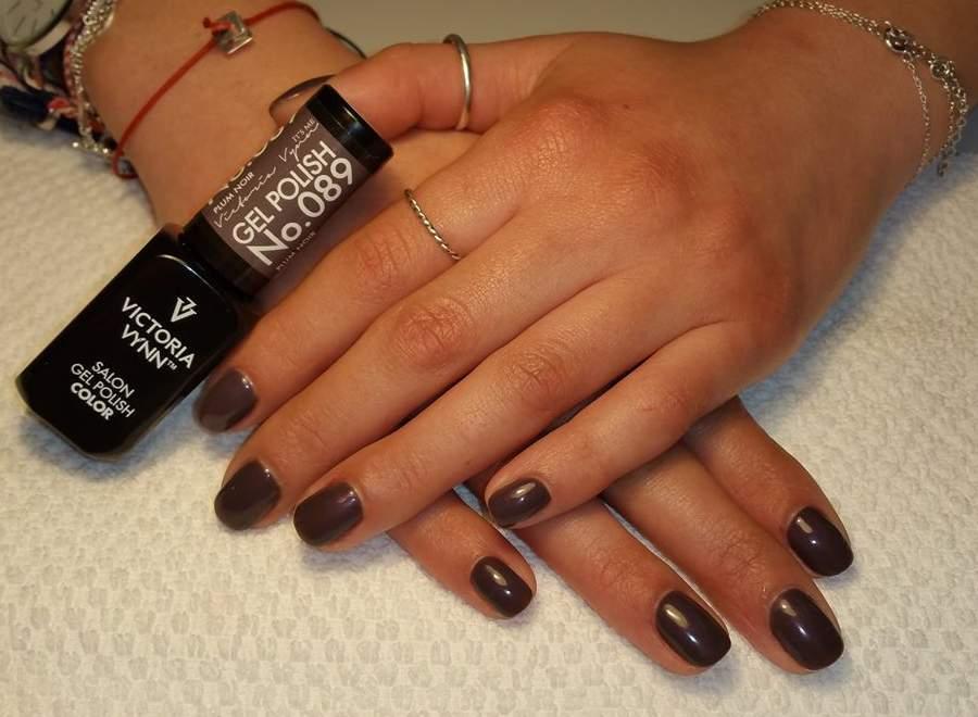 Victoria Vynn Verniz Gel Nº 089 - Plum Noir - 8 ml