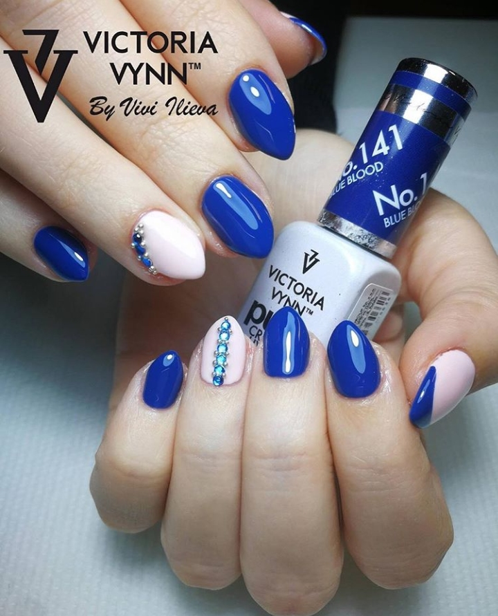 Victoria Vynn Verniz Gel Nº 141 - Blue Blood - 8 ml