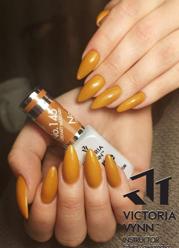 Victoria Vynn Verniz Gel Nº 145 - Creamy Mustard - 8 ml - Edição Limitada