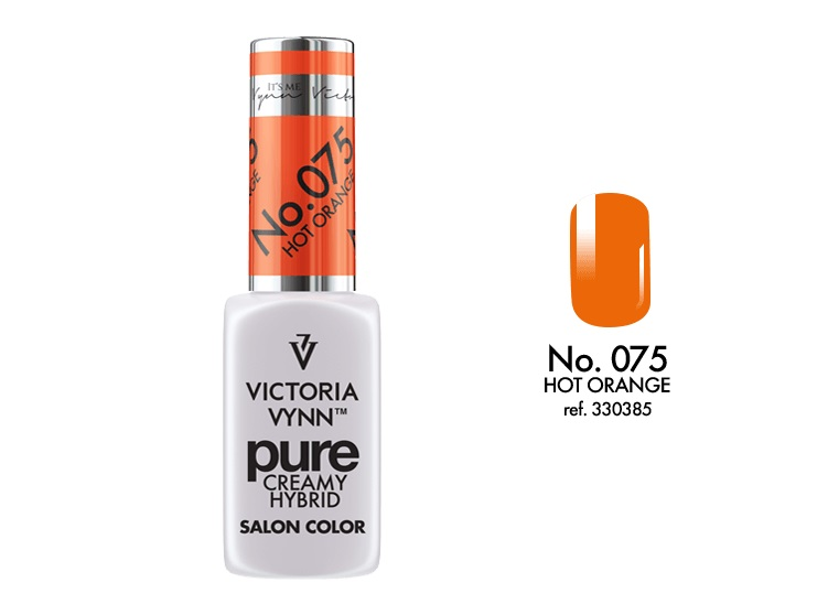 Victoria Vynn Verniz Gel Nº 075 - Hot Orange - 8 ml