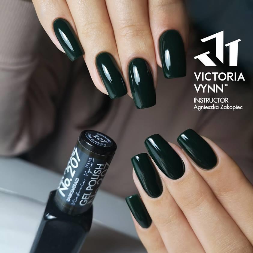 Victoria Vynn Verniz Gel Nº 207 - Dark Emerald - 8 ml