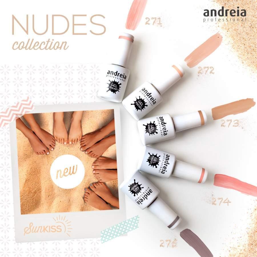 Verniz Gel Andreia - Nude Collection - 271, 272, 273, 274, 275