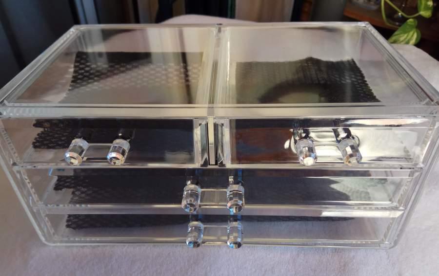 Organizador de Maquilhagem - Acrílico com 4 gavetas