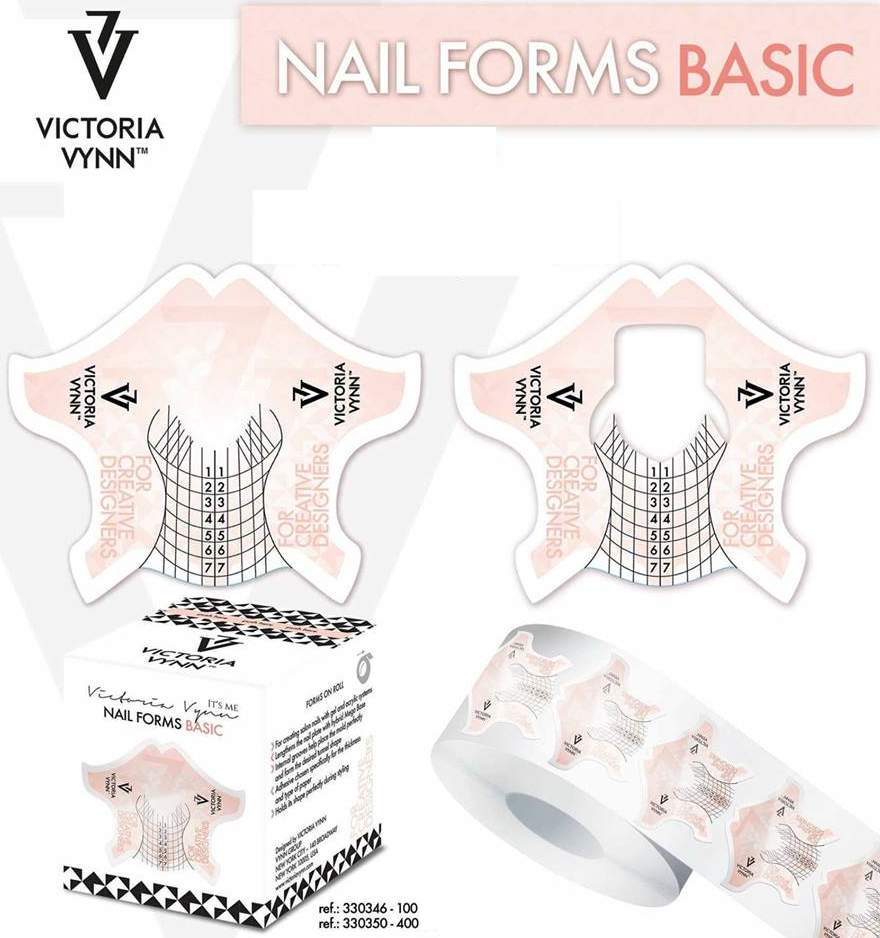 Moldes para Extensão Victoria Vynn - 100 moldes