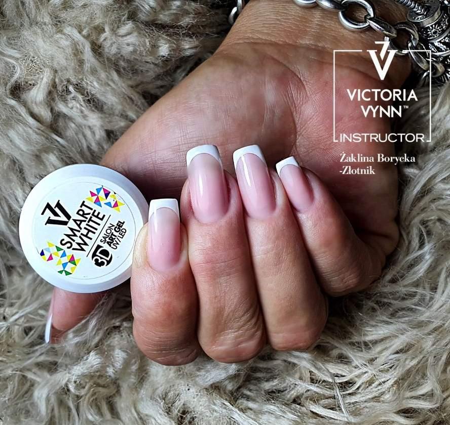 Victoria Vynn - Art Gel 3D para Nail Art - Branco - 5 ml