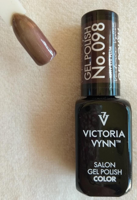 Victoria Vynn Verniz Gel Nº 098 - Kitty Eye Plum - Cat Eye - Magnético - 8 ml
