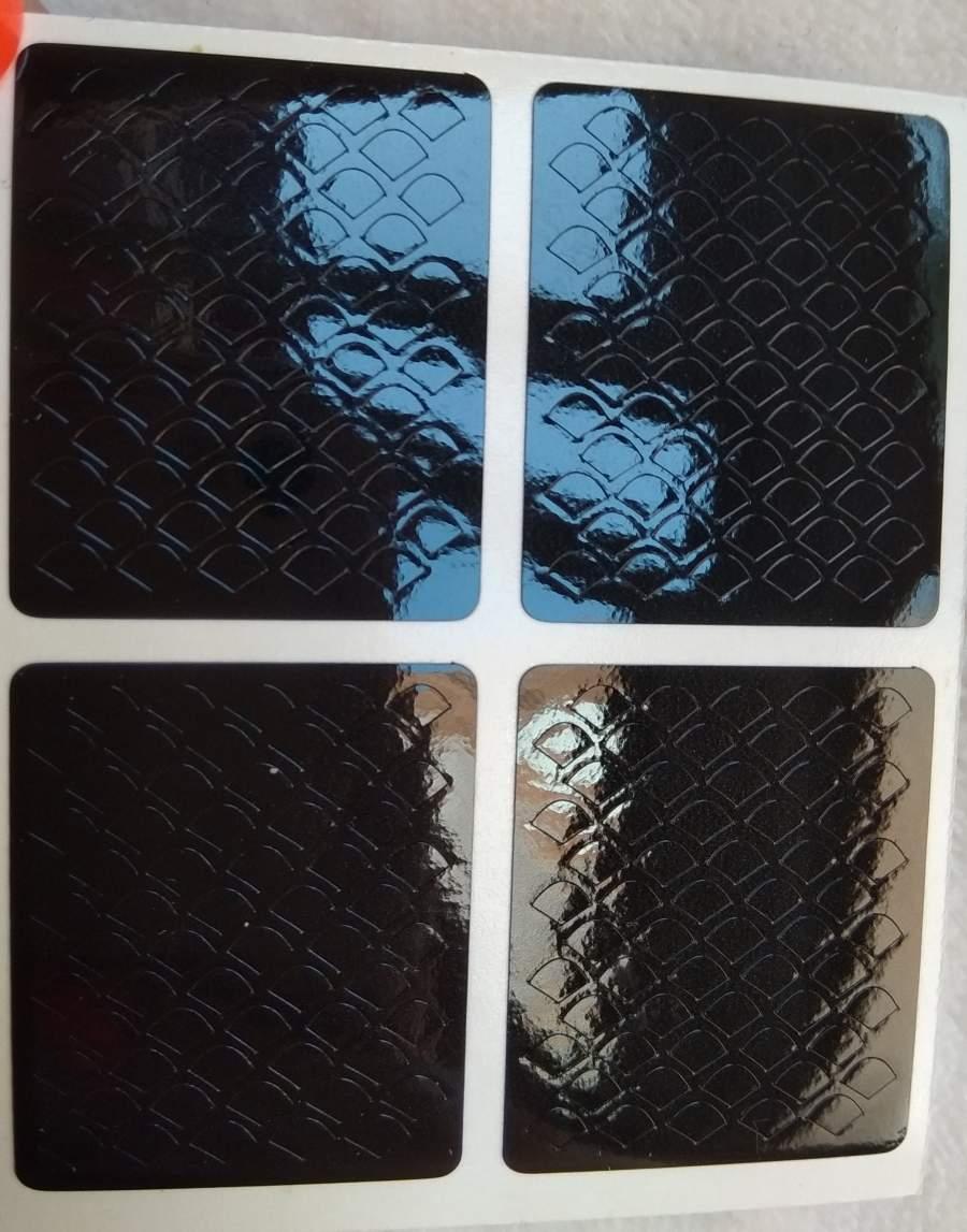 Stencil Escamas de Sereia - 4 Unidades