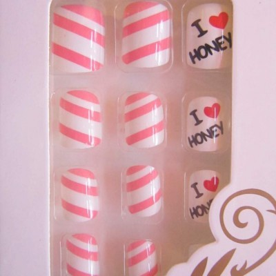 Unhas de Colar - I Love Honey