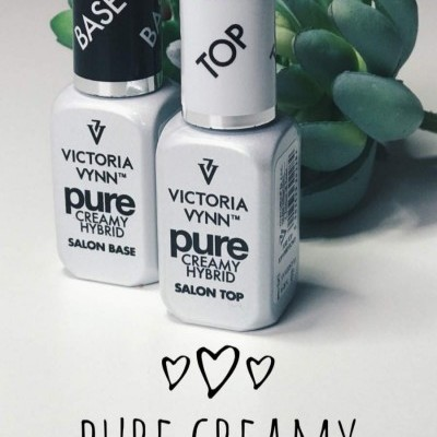 Victoria Vynn - Kit Base e Top Coat - Gama Pure
