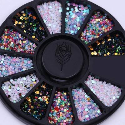 Rodinha Confetis Coloridos Pequenos