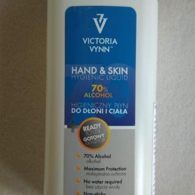 Liquido Desinfetante Mãos e Pele 70% - Victoria Vynn - 1 Litro