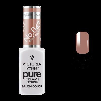 Victoria Vynn Verniz Gel Nº 043 - Bella Brown - 8 ml
