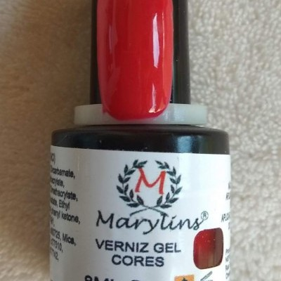 Verniz Gel Marylins 114 - Vermelho