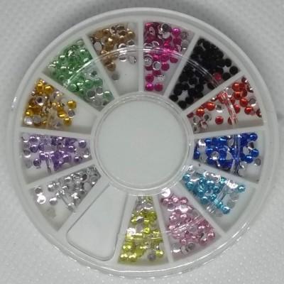 Rodinha Brilhantes Coloridos Médios 1 mm