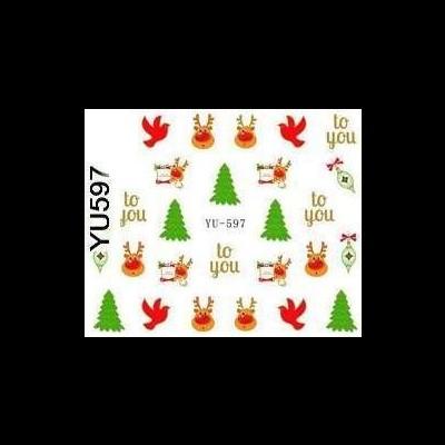 Decalques de Natal YU-597