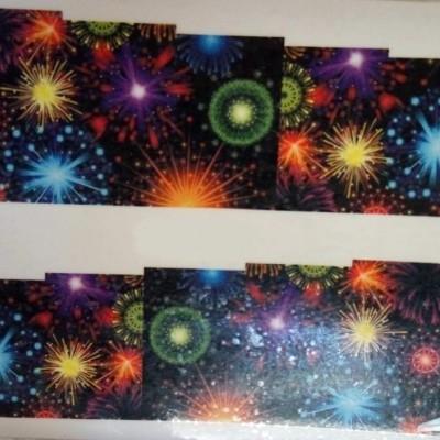 Decalques Fogos de Artificio - BN-174