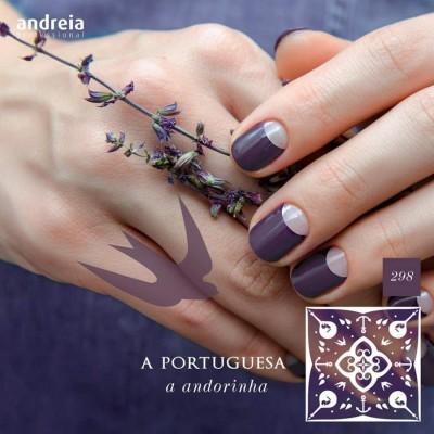 Verniz Gel Andreia 298 - A Andorinha - Coleção A Portuguesa