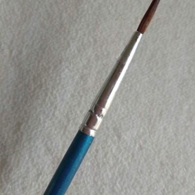 Pincel Nail Art Azul - Ponta grossa
