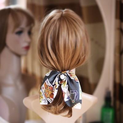 Scrunchie para o cabelo com Pérola - Modelo 3
