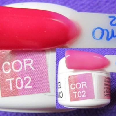 Gel Térmico T02 - Rosa Escuro / Rosa Claro
