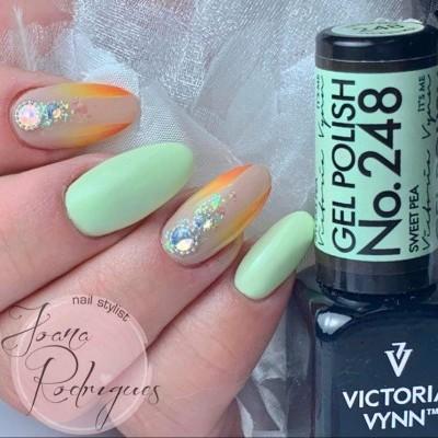 Victoria Vynn Verniz Gel Nº 248 - Sweet Pea - 8 ml