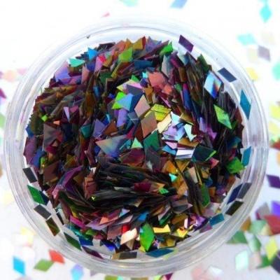 Confetis em Losango - Coloridos