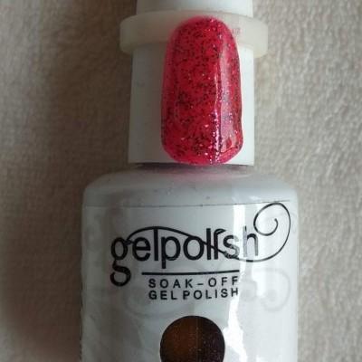 Gel Polish 1865 Rosa Glitter - 15 ml