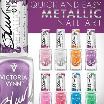 Blur Ink - Victoria Vynn - Coleção de 8 Cores Metálicas