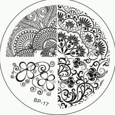Placa BP-17 - Flores