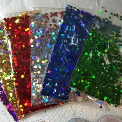 Saqueta Confetis Coloridos - Uma Unidade