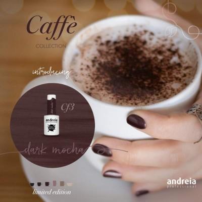 Verniz Gel Andreia Cf3 - Coleção Caffe