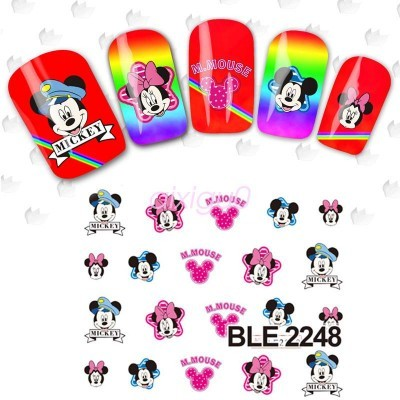 Decalques Minnie BLE2248