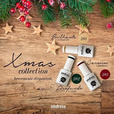 Verniz Gel Andreia - Coleção Natal - 281, 282, 283