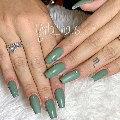 Victoria Vynn Verniz Gel Nº 209 - Dusty Green - 8 ml