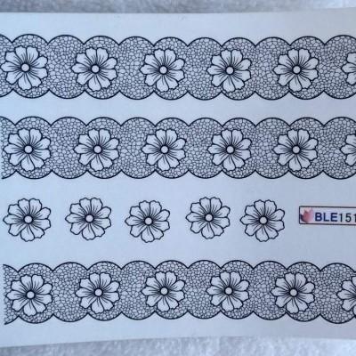 Decalques Flores BLE1510