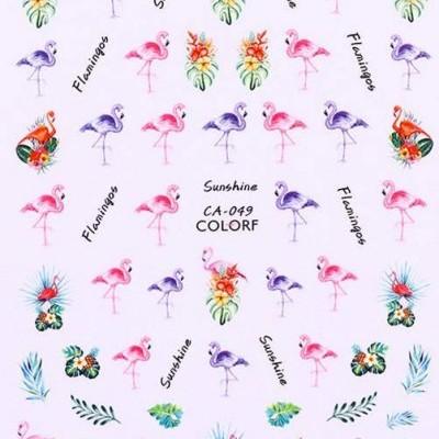 Decalques de Verão - Flamingos CA-049