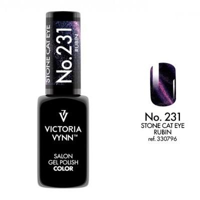 Victoria Vynn Verniz Gel Nº 231 - Rubin Stone Cat Eye